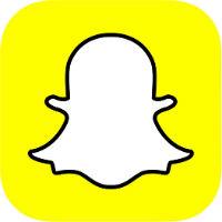 Snapchat logo-social media platform