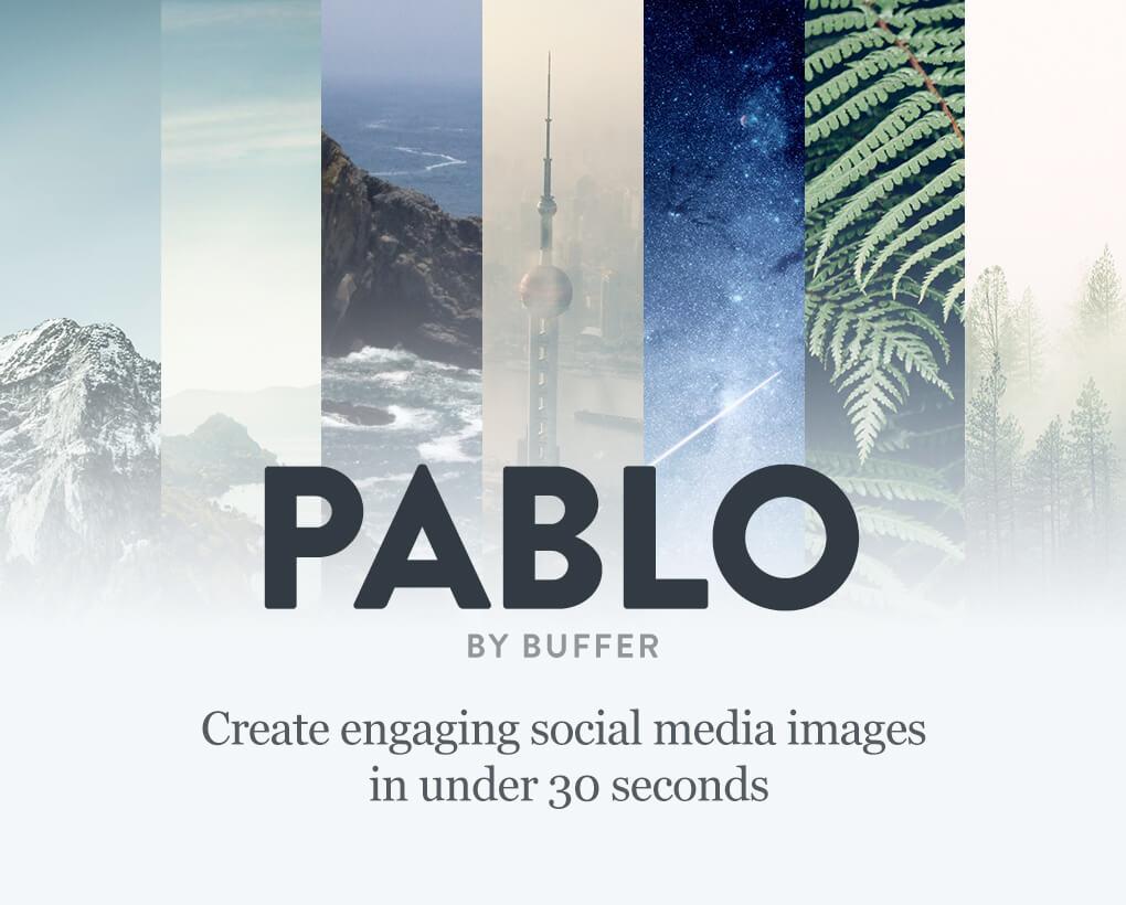 Blogging image tool Pablo