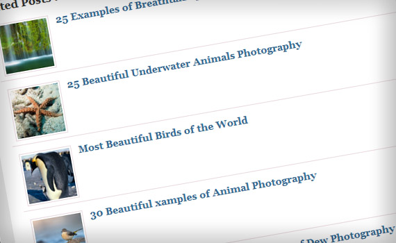 Blogging list posts